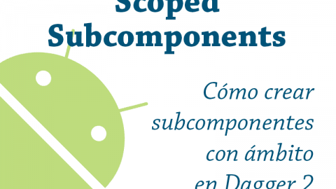 Scoped Subcomponents y Singletons – Dagger 2