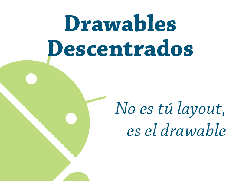 No es tu layout, es el drawable