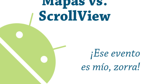 Evitar que un ScrollView intercepte los eventos de un GoogleMap